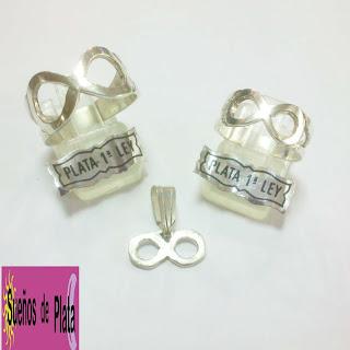 anillo infinito plata comprar