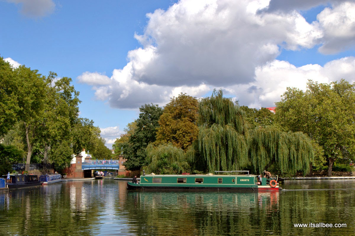 Boat Tours Walking Little Venice London Warrick Avenue Paddington