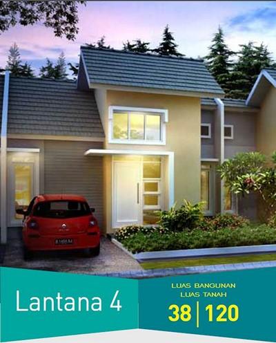 Bukit Lantana Citra Indah Tipe 38/120