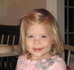 My sweet Kelsie Caroline