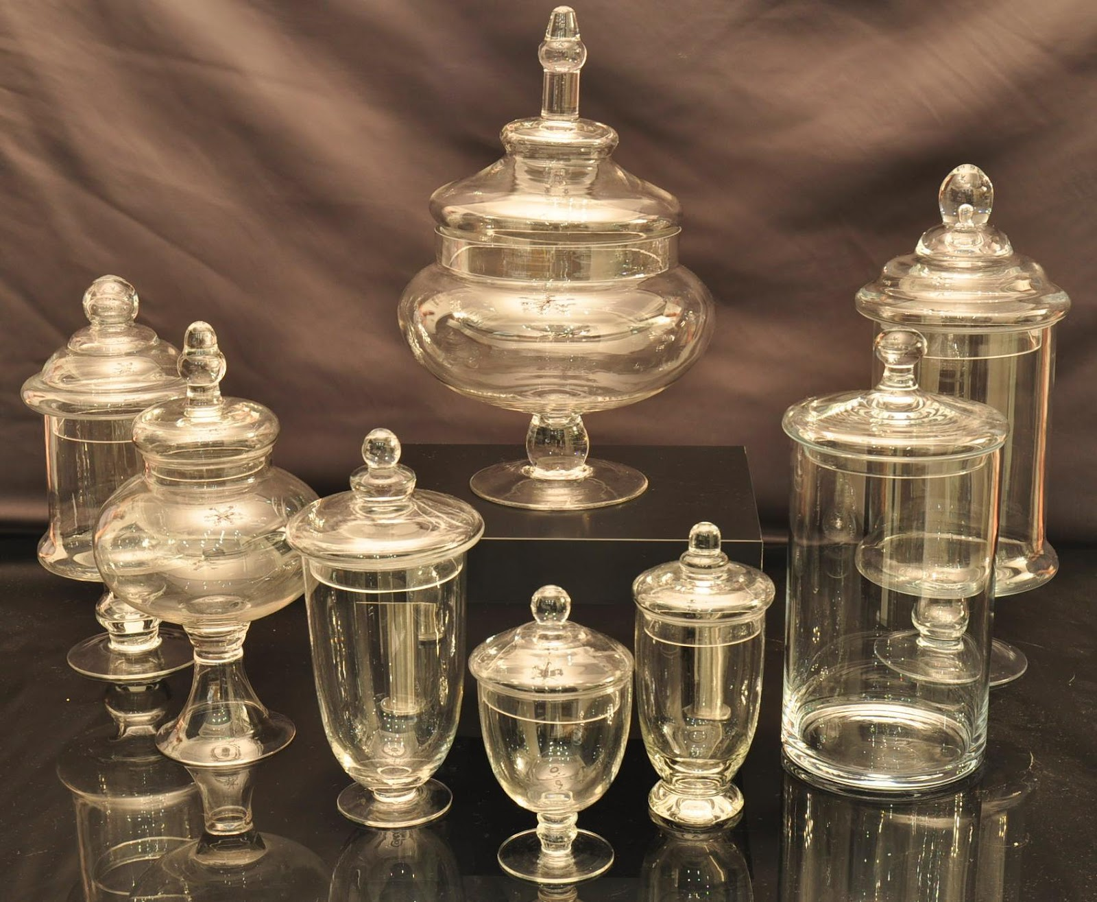 A Reception To Remember More Apothecary Jars