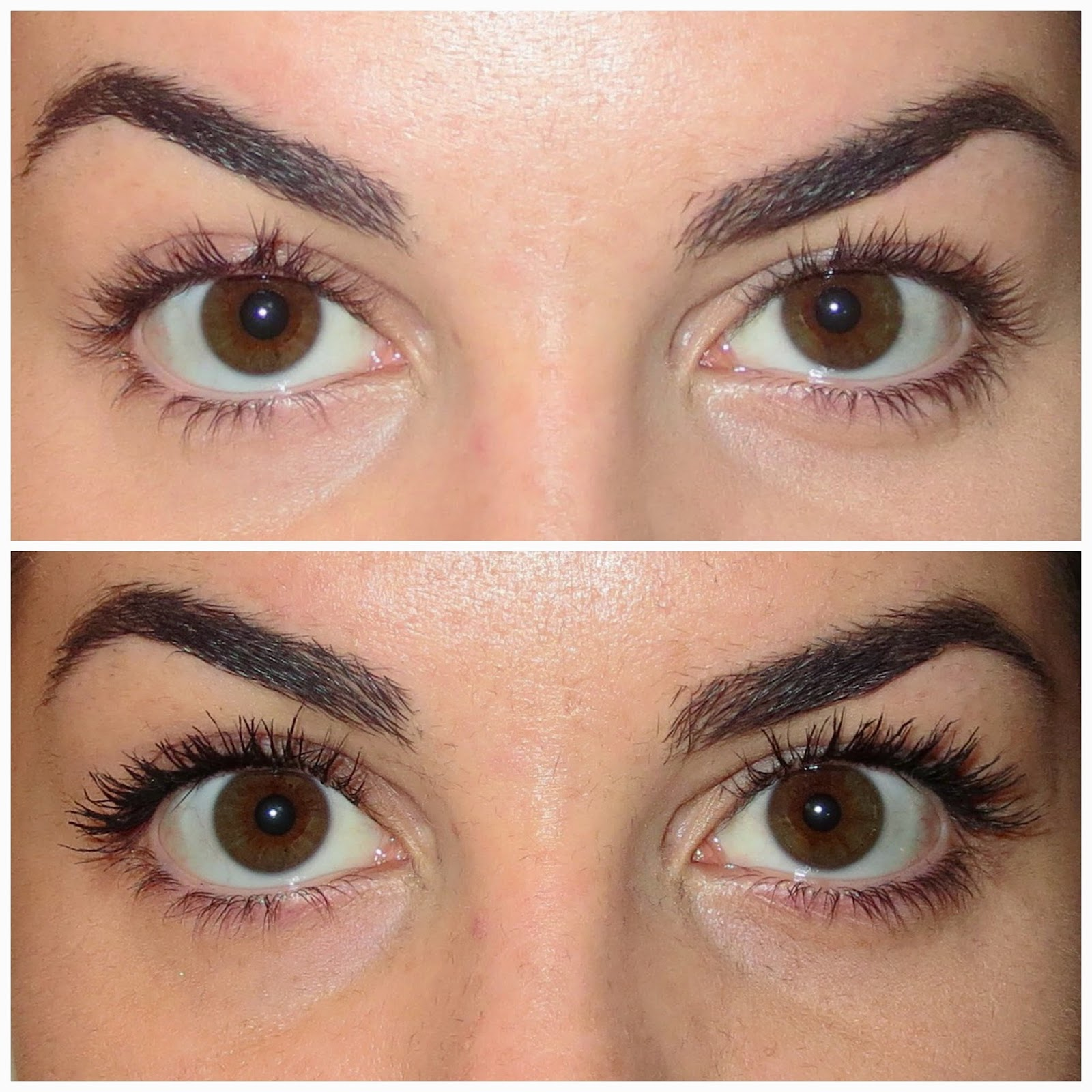 a picture of  Physician's Formula Eye Booster Instant Lash Extension Kit (Before & After)