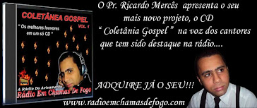 LANÇAMENTO DO CD DA RÁDIO EM CHAMAS DE FOGO