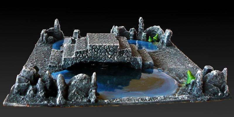 Skavenblight's Underground Scenery - Page 2 02-podziemne_jeziorko_z_mostem3