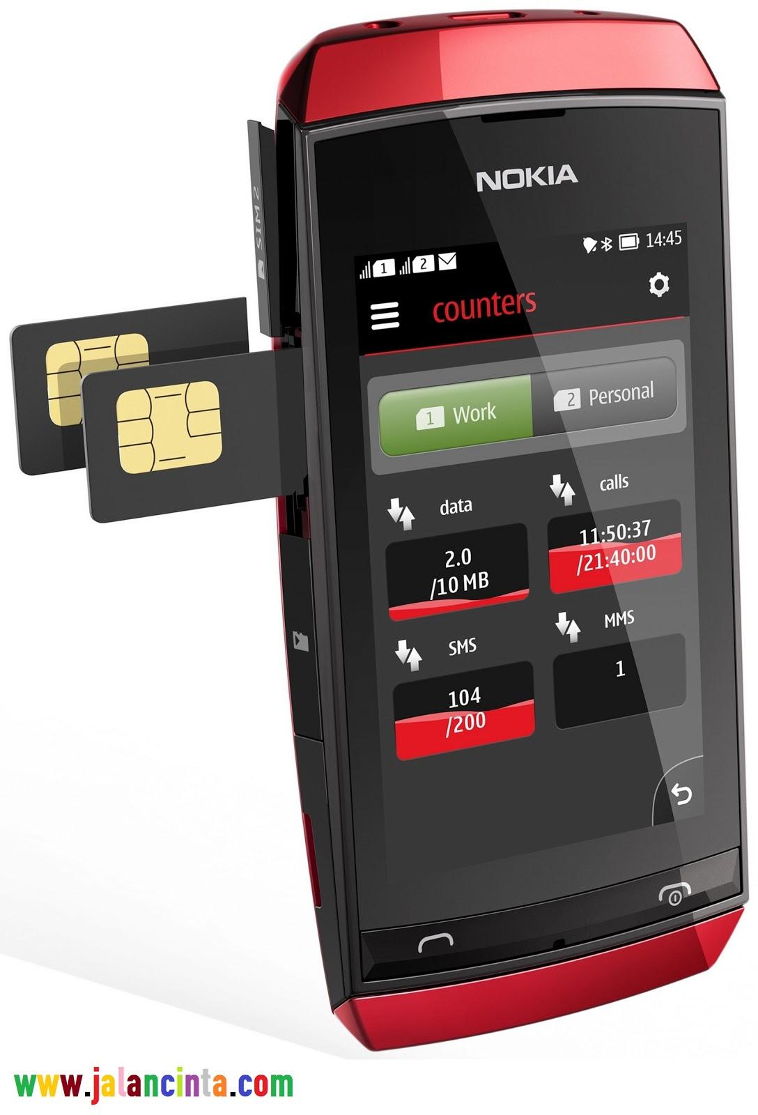 Aplikasi Nokia Asha 305 Terbaru 2013