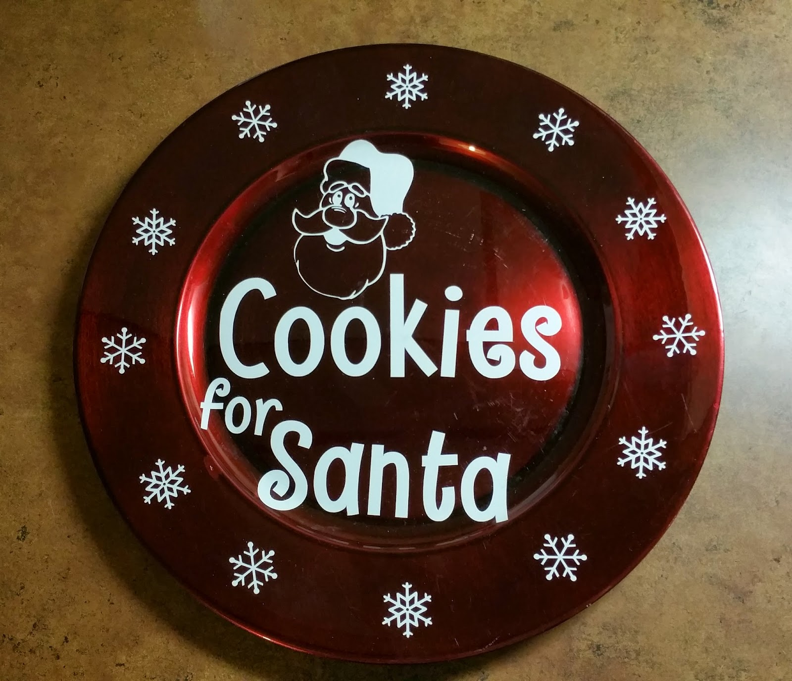 Cookies For Santa Charger