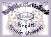 Random Monday Giveaways