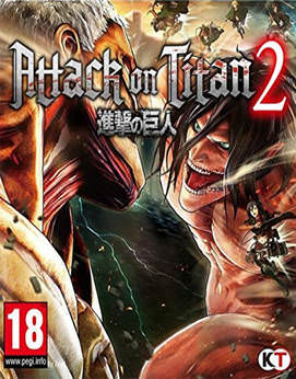 Attack on Titan 2 Jogos Torrent Download capa