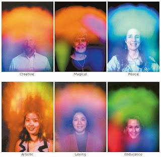 Ilustrasi Gambar Berbagai Ekspresi Aura Tubuh dalam Diri Seseorang