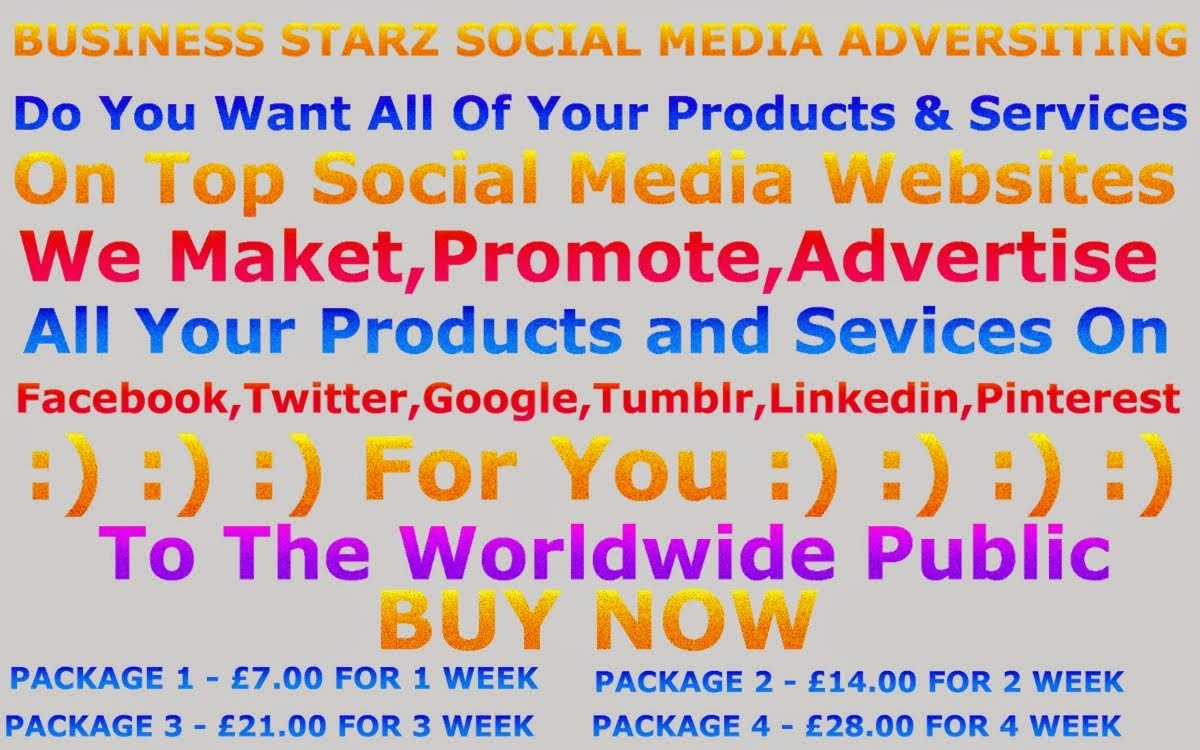 BUSINESS STARZ SOCIAL MEDIA ADVERTISING