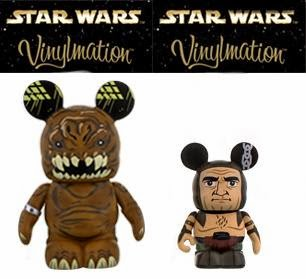 Star Wars Vinylmation Series 4 by Disney - Rancor 9 Inch Vinylmation & Rancor Keeper 3 Inch Vinylmation 2 Pack