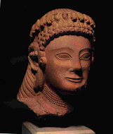 Cypriot Sculpture of a Woman