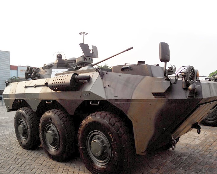 Anoa 2 6×6 LCT20 Turret