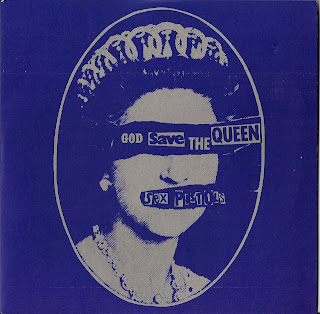 Sex Pistols : 2 45rpm Vinyl Singles - God save the Queen - Preety Vacant