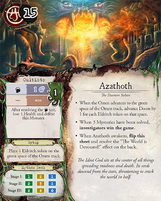 Eldritch Horror Azathoth