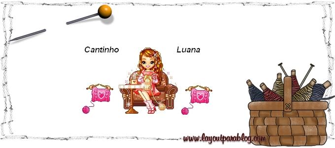 Cantinho da Luana - Apaixonada por Tricô (Crochê também!) e Moda!