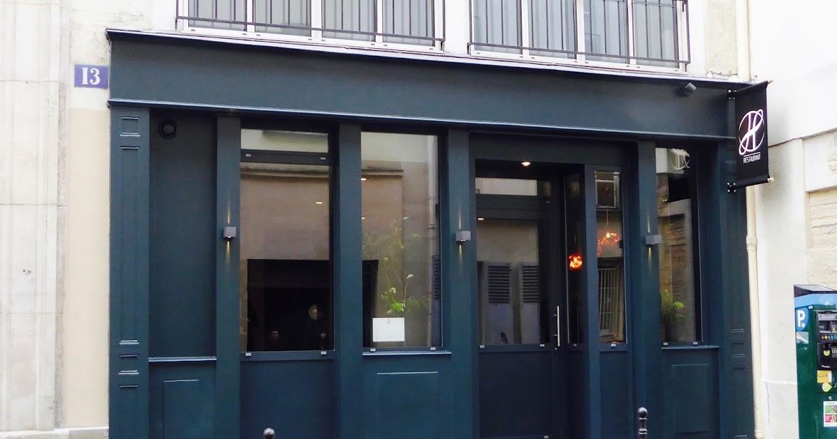 Paris Missives...: Restaurant H -- Restaurant Review