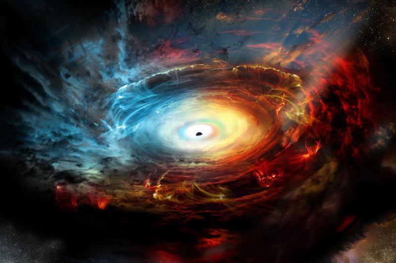 Fotografiaron agujero negro