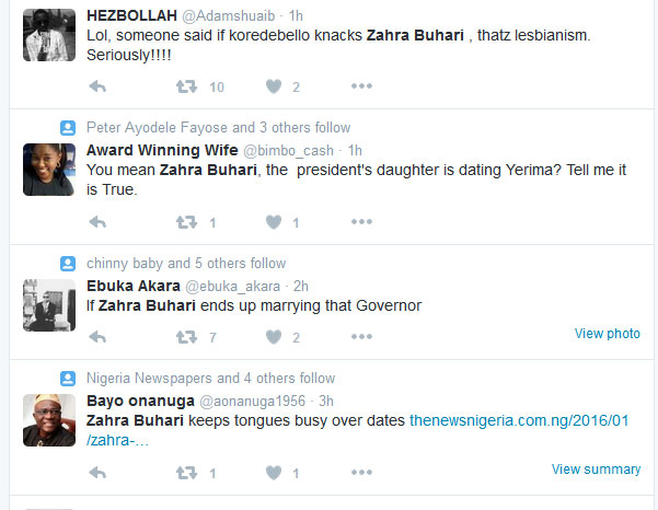 Korede Bello Talks About Relationship With Zahra Buhari, Twitter Goes On Flames (Screenshots)