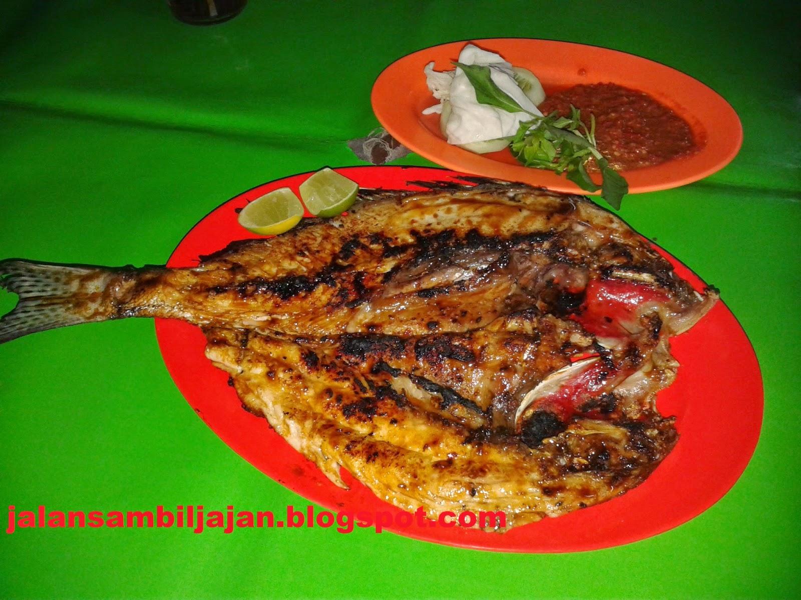 Ikan Kakap Putih Bakar MM
