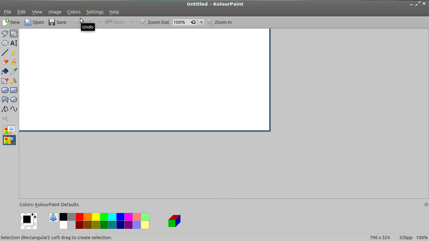 Cache Mspaint Like Application For Linux Or Picture