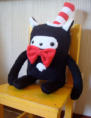 Denn Rodriguez cat in the hat plush