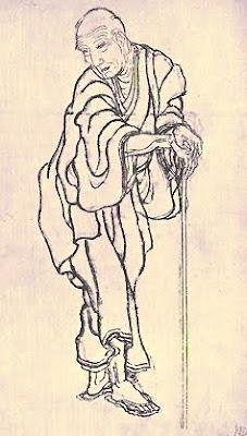 Autoretrat, 1845 (K. Hokusai)