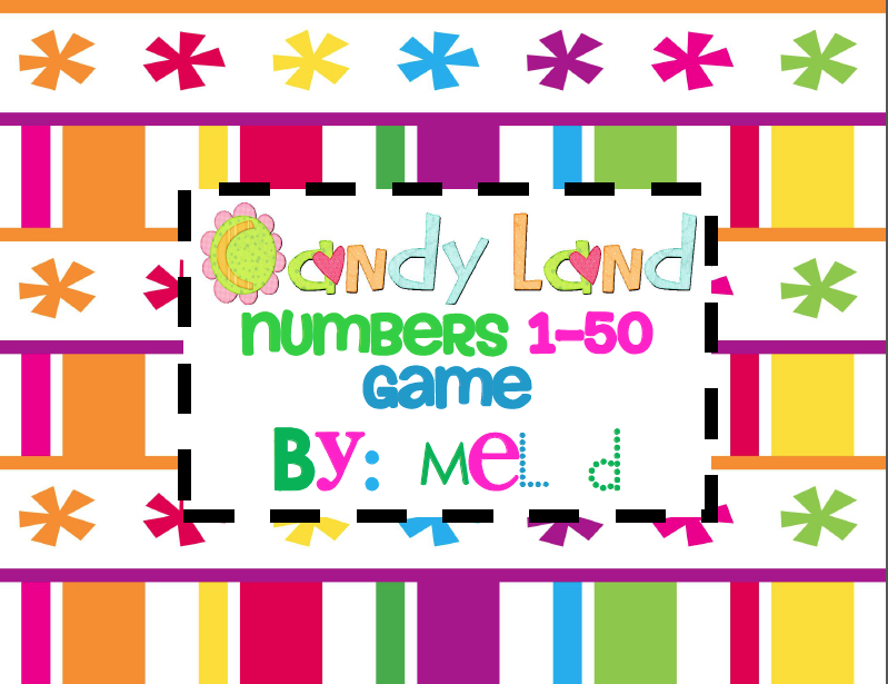 http://www.teacherspayteachers.com/Product/Candy-Land-Numbers-1-50-Game-198060