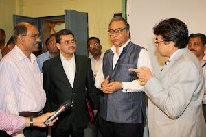 CEO Jawahar Sircar and Vikram Kaushik