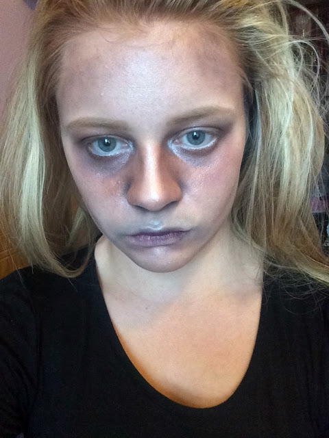 zombie makeup tutorial step by step