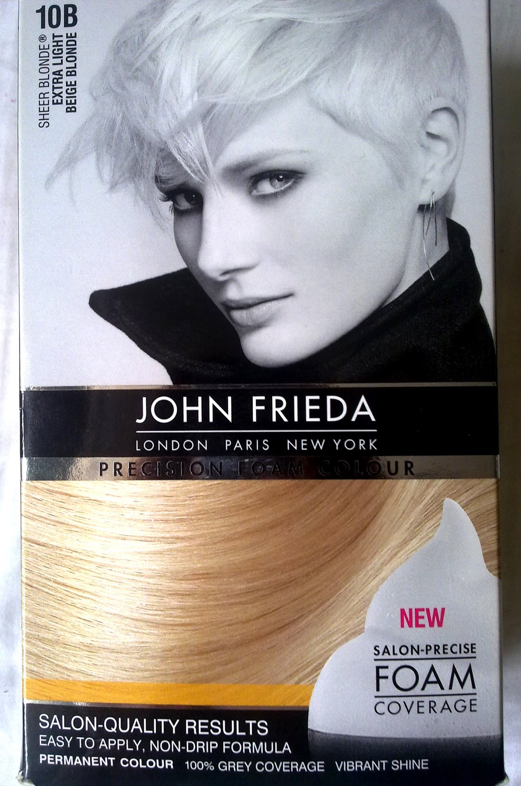 Guest Review John Frieda Precision Foam A Beauty Junkie In London