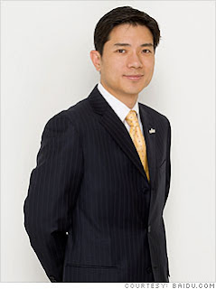Robin Li The Founder of Baidu, Be Richest Man in China