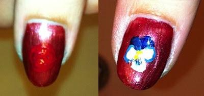 nail me, nail art, anna, flower, garden