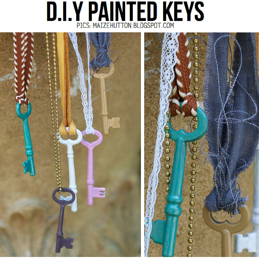 Me you and magoo 15 creative ideas for using vintage for What can you do with old keys