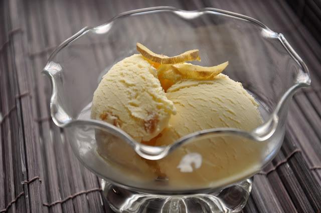 ... boyfriend that i was thinking of making a honey ginger ice cream honey