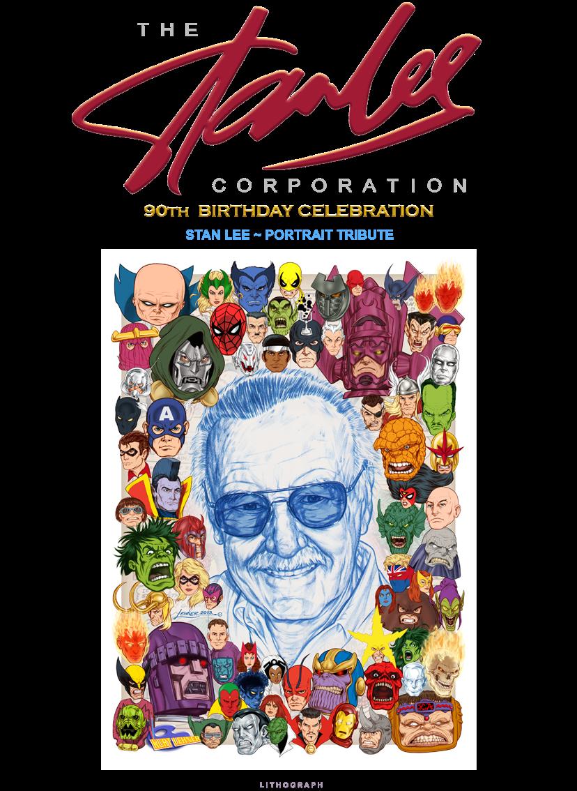 Stan Lee - Portrait Tribute