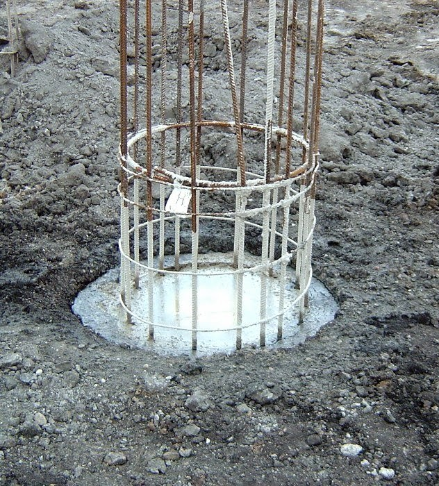 Construction hints foundation type and uses for Foundation pilings