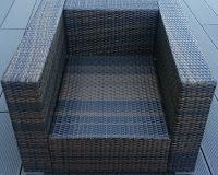 Gartenmöbel aus Polyrattan Sessel