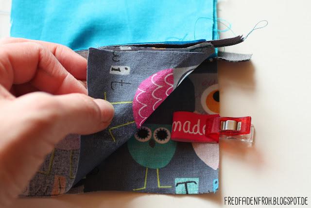 Täschchen nähen; Geschenkkarten; Schlüsseltasche; Krimskram; kostenlos; Tutorial nähen; free; fred fadenfroh