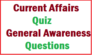 Current Affairs Quiz - September 2013- General Awareness Questions For ...