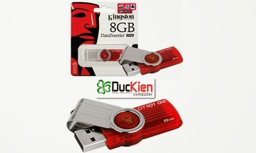 Usb Kingston 8GB Data Traveler 101 khuyến mãi giá rẻ dukitashop