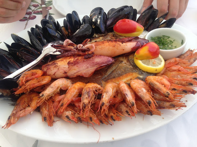 A Seafood Feast on Hvar
