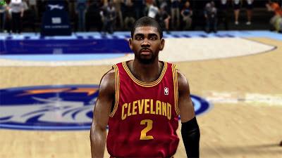 NBA 2K13 Kyrie Irving Cyberface Mod