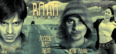 Poster Of Bollywood Movie Road (2002) 300MB Compressed Small Size Pc Movie Free Download exp3rto.com