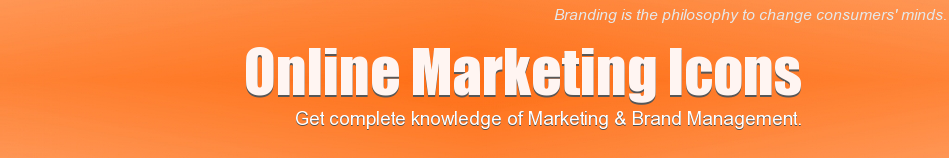 Online Marketing Icons - Seek, Learn & Share Marketing Knowledge - Smart Branding Strategies