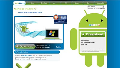 YouWave for Android, OS / Shell Enhancement