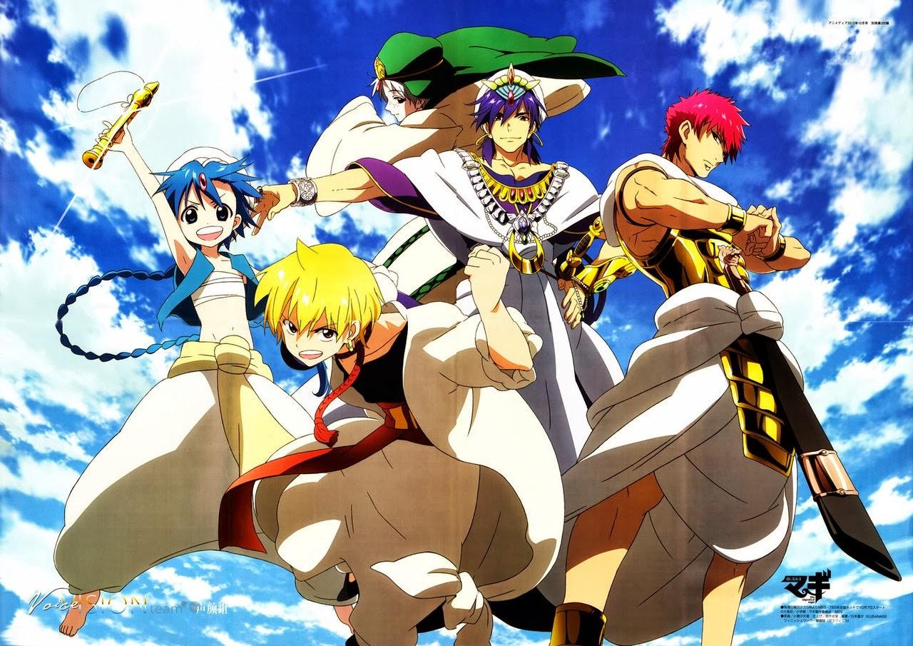 Anime Adventure Genre