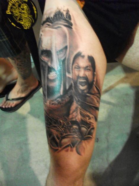 Tatuaje Espartanos 300