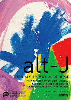 alt-J Live in Manila