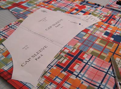 Meghan Peasant Dress by Sis Boom Michael Miller Fabric